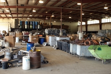 Metal Scrap Warehouse
